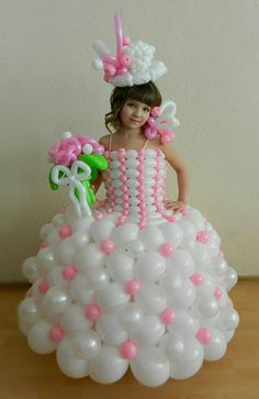 Vestido de globos - Cute balloon dress