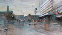 Kaivokatu Watercolor Artists, Watercolours, Sketches, Urban, World, Painting, Inspiration, Drawings, Biblical Inspiration