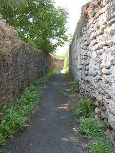 Les ruelles de Doué-la-Fontaine