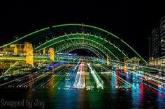 Tonights feature comes from @snappedbyjay congratulations on a great #VividSydney shot! Fantastic use of movement to transform an iconic image. Thanks for the creative inspiration @snappedbyjay. To create some thing similiar next time you are capturing a long exposure try changing your focal length part way through the exposure. For your chance to have your photo featured dont forget to hashtag #canoncollective or tag @canoncollectiveofficial…