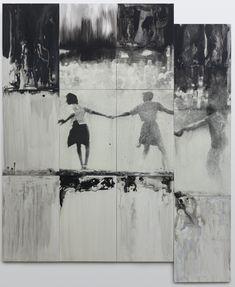 Lorna Simpson, Three Figures, 2014.