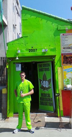 "Only in Venice Beach, Los Angeles    ""Marijuana Doctor"""
