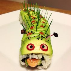 The Very Hungry Caterpillar Roll @ Zupfts