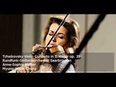 Anne-Sophie Mutter plays Tchaikovsky Violin Concerto (audio) | #Classical-Music #Violin-Concerto