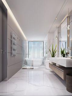广州星汇文华现代简约四居室装修效果图_230平米20万装修设计案例-广州房天下家居装修网