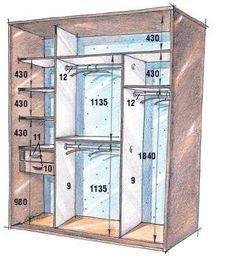 Standard Closet Measurements