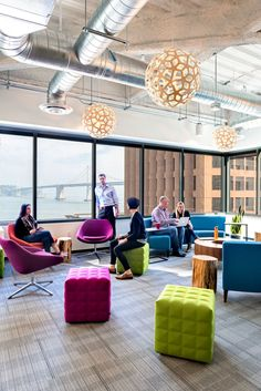 New Relic - San Francisco Offices - Office Snapshots - inspiration for University Campus in the Middle East by SI Architects