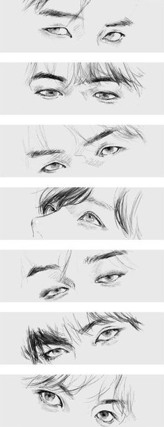 How to draw BTS& eyes like this Source by mjjsheartbeat The post How to draw BTS& eyes like this appeared first on Pencil Drawing. Draw Bts, Drawing Tips, Drawing Sketches, Drawing Art, Anime Eyes Drawing, Cool Eye Drawings, Drawing Skills, Drawing Tutorials, Drawing Techniques
