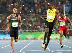 Usain Bolt after winning men's 200 meter semifinals - Olympic Games, Rio de Janeiro Rio Olympics 2016, Summer Olympics, Jamaica, Usain Bolt, Rio 2016, Olympic Games, Athlete, Running, Sports