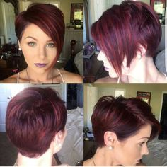 """4,272 Likes, 31 Comments - Short Hair Pixie Cut Boston (@nothingbutpixies) on Instagram: """"@kiss_and_makeup05 with another great #pixie360"""""""