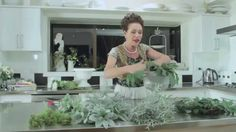 VIdeo for reference- The Fundamentals of Floristry Design Tutorial (British Martha Stewart, lol)