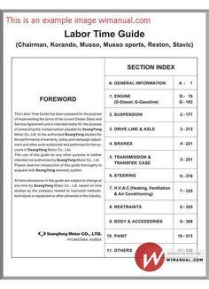 ssangyong actyon service repair manual 2006 2007 2008 2009 download