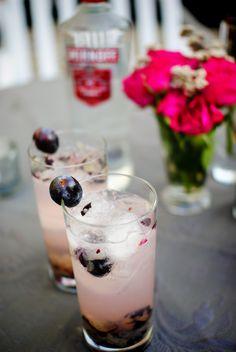 Summer cocktail with Smirnoff Grape flavored vodka #Smirnoff #vodka #drink #recipe #summer