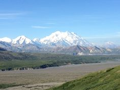 Got to see McKinley from Eielson Visitor Center- heard the view from Wonder Lake is amazing but Eielson gave me a great view. Just beautiful!