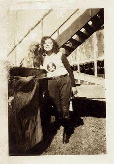 Lillian LaFrance, 1920s stunt rider