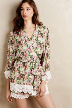 Trellis Lace Robe - anthropologie.com #anthrofave