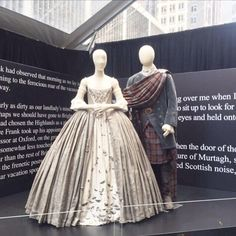 Actual costumes from #Outlander #The Wedding