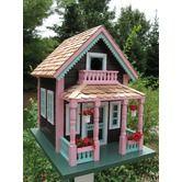 Cottage Bird House