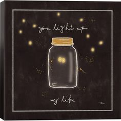 Light Up My Life Canvas Print More