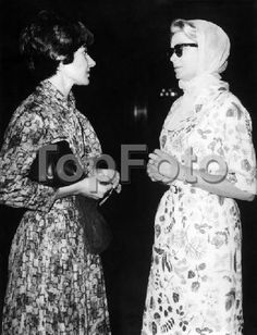 Maria Callas And Grace Kelly