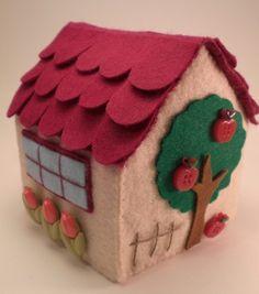 Pannolenci on pinterest feltro filo and felt for Oggetti da creare in casa