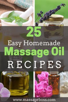 Looking for the best homemade massage oil? Try these awesome recipes and impress your loved ones with an unforgettable aromatherapy massage.