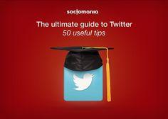 The ultimate guide to Twitter - 50 useful tips. Full presentation: https://www.slideshare.net/Socjomania/the-ultimate-guide-to-twitter-50-useful-tips  #Twitter #TwitterTips #SocialMedia #SocialMediaTips