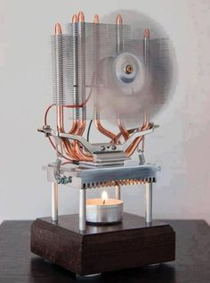 Candle electricity generator