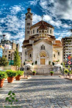 Armenian church downtown #Beirut, Lebanon Sourp Nishan where I was baptised.