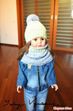 "Комплект ""Pear"" шапка и снуд в стиле унисекс - Вязание - Страна Мам"