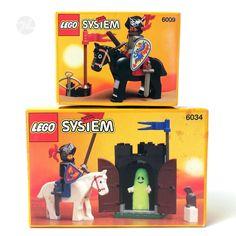 Vintage Lego, Lego Toys, Lego Minifigure, Legos, Children, Kids, Knight, Childhood, Geek Stuff