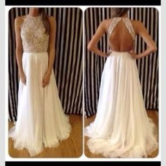 great idea for a wedding dress <3