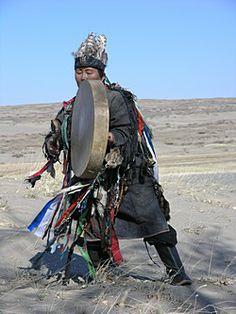 Tuvan Kam(Shaman) drumming.