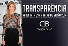 Transparência: aprenda a usar a trend do verão 2014