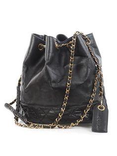 Chanel vintage handbag.