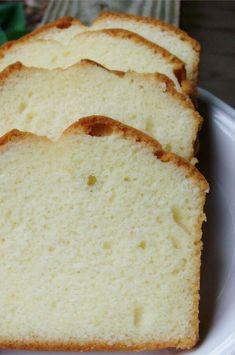 Grandmother's Pound Cake II - Desserts Köstliche Desserts, Delicious Desserts, Dessert Recipes, Yummy Food, Homemade Cake Recipes, Pound Cake Recipes, Baking Recipes, Cupcakes, Cupcake Cakes