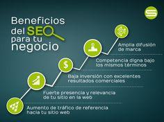 Beneficios del #SEO para tu negocio - #Infografia