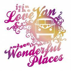 Join the Love Van!  www.tapeterie.de
