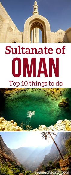 Oman Travel Guide - Tops things to do in Oman - Wahiba Sands desert, Wadi Shab, Mosque... | #Oman | Oman things to do | Oman itinerary
