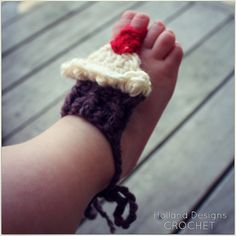Download Now  CROCHET PATTERN Barefoot Baby by hollanddesigns, $3.99