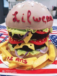 Burger Cake, Html, Hamburger, Ethnic Recipes, Blog, Daughter, Birthday, Recipes, Hamburger Pie