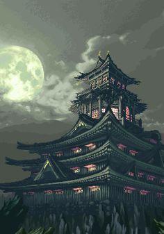japanese temple in animes - Pesquisa Google