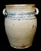 Early Baltimore Open-handled Stoneware Jar