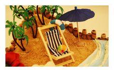Beach cake 3