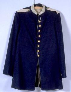 Uniform; Indian War Period, Jacket, Hortsman Buttons.