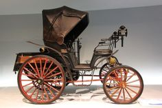 The 1893 Benz Victoria was Karl Benz' first four-wheeled automobile.