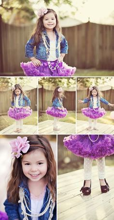 I want to have Aubrie's 4 yr pictures taken in something like this!
