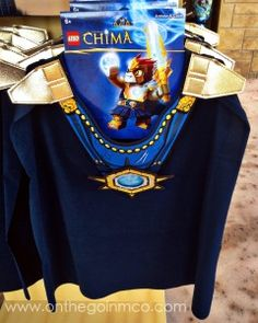 The Legends of Chima dress up options are super cute!