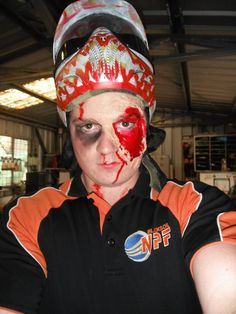 "Got a clawing craving for some spooky Friday night paintball this Halloween? NPF is hosting a terrifying ""Freaky Friday Night"" on the 31st of October. Expect a different paintball experience including: the out of the ordinary, new games to match the theme and of course lots of prizes! Don't forget your best Halloween costume to win yourself something gruesome... Tickets only $25 and inc entry, gear hire, 100 paintballs plus a repulsive dinner! #halloween #costume #paintball #zombie #NPF"