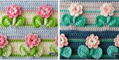 pretty crocheted flower stitch | the crochet space